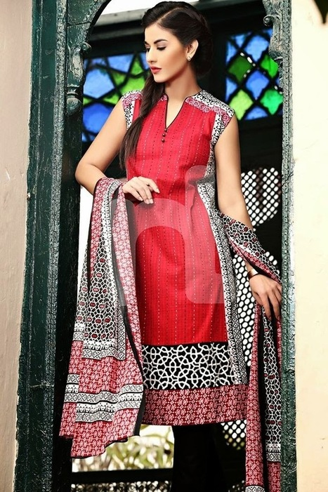 Nishat Linen Spring Summer 2015 Trends | New Fashions-PK | Your choice for dress | Scoop.it