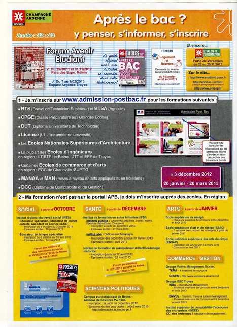Site CIO Troyes. - Accueil | Orientation après le collège | Scoop.it
