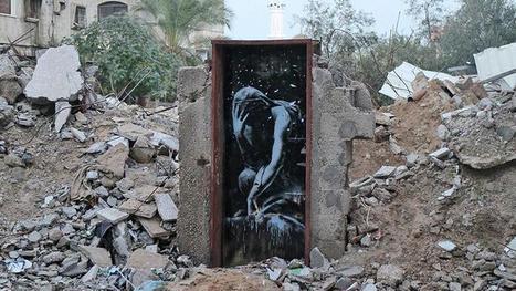 Un graffiti de Banksy vendu moins de 200 dollars à Gaza - Le Figaro | Content | Scoop.it