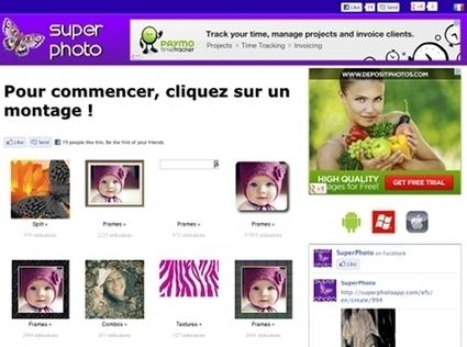 SuperPhotoApp : une application en ligne pour ajouter des effets à ses photos | Ressources informatique et classe | Scoop.it