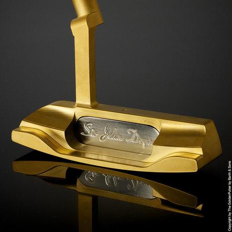 The Golden Putter : Un putter exclusif voit le jour   actualité golf - golf des vigiers   Scoop.it