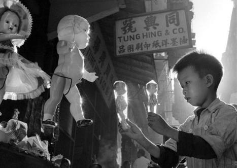 "From ""Hong Kong Yesterday"" photobook, 1950s-1960s by Fan Ho 