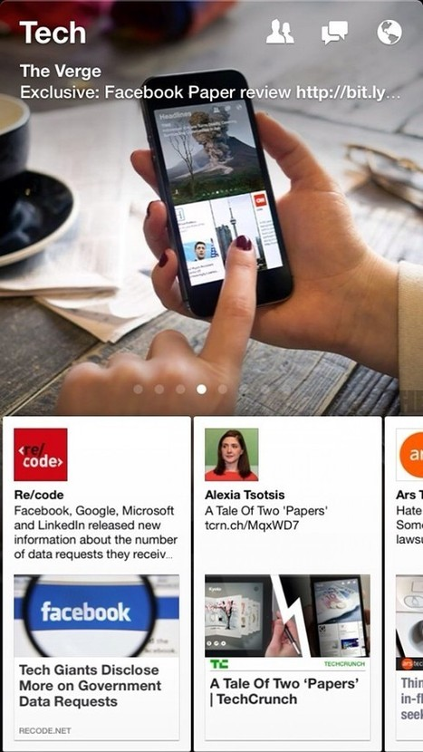 Facebook's Paper App Will Transform Your Experience On The ... | all types of giving | Scoop.it