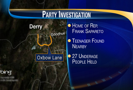Police investigating underage drinking party at state rep's house | stay in control by olivia | Scoop.it