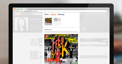 SoundCloud Launches an Artwork-rich Embeddable ... - The Next Web   A Worldly Look   Scoop.it