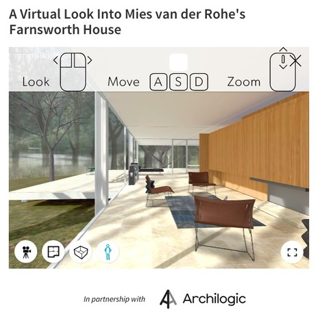 A Virtual Look Into MIES van der ROHE's  one of the most paradoxical houses of the 20th century. | The Architecture of the City | Scoop.it