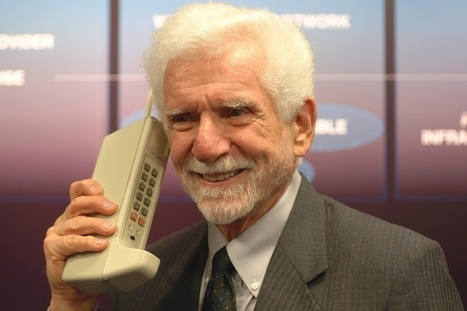 El teléfono celular cumple 40 años: habla su creador│@rsametband @LNTecnologia | WEBOLUTION! | Scoop.it