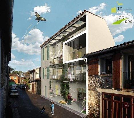 [inspiration] Une construction écologique à double personnalité | Immobilier | Scoop.it