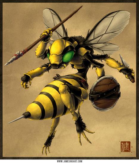 Insectes de guerre | EntomoScience | Scoop.it