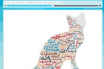 A Fun Tool for Making Word Clouds in Fun Shapes | Literacy Using Web 2.0 | Scoop.it