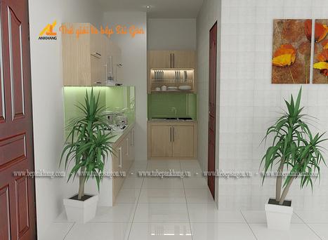 Tủ bếp đẹp chị LAN TBAK382. | Tủ bếp, Bếp An Khang tạo dấu ấn cho ngôi nhà VIỆT 0839798355 | Scoop.it