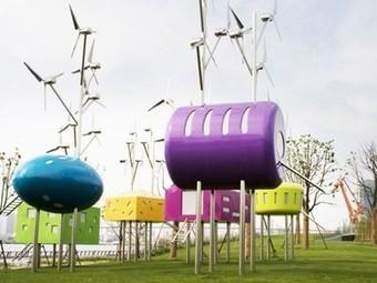 Shanghai Park's Pavilions Are Wind-Powered Urban Leisure Spots   Vertical Farm - Food Factory   Scoop.it