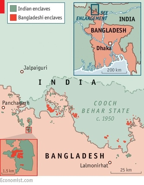 Why India and Bangladesh have the world's craziest border | Geography Education | Scoop.it