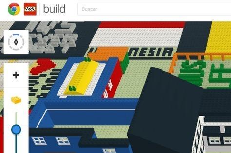 En la nube TIC: Construye con Google Chrome y Lego