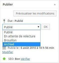 Archiver vos articles avec un plugin WordPress   WordPress France   Scoop.it