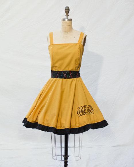 C3P0 Retro Style Dress | GeekGasm | Scoop.it