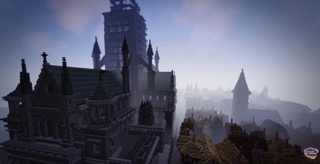 Le Musée de Londres recréé le grand incendie de 1666 dans Minecraft et propose aux internautes de reconstruire la ville | UseNum - Culture | Scoop.it