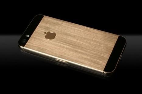 Un iPhone 5s en or produit à l'aide d'une imprimante 3D | Nouvelles technologies | Scoop.it