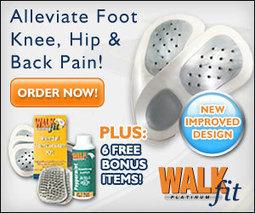 WalkFit Platinum Shoe Orthotics Insoles Relieve Foot Pain | Health & Wellness | Scoop.it