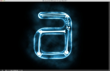 Easy X-Ray Typography in Photoshop | Abduzeedo | Graphic Design Inspiration and Photoshop Tutorials | Photoshop Text Effects Journal | Scoop.it