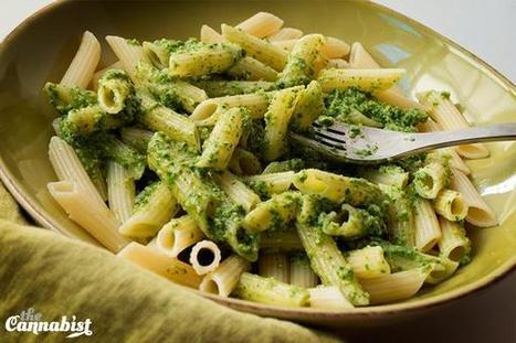 Pesto made with arugula and walnuts | Cannabis Uses | Scoop.it