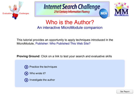 Internet Search Challenge: Re-release of Author Tutorial   Leveraging Information   Scoop.it