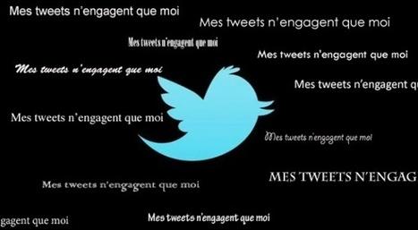 Rien ne sert de préciser «Mes tweets n'engagent que moi» sur Twitter | Slate | Outils numériques pour associations | Scoop.it