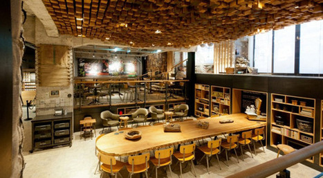 TrendsNow | Inspiration > Starbucks « The Bank » Concept Store in Amsterdam | Funny News | Scoop.it