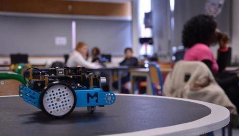 Cours de code au collège : un combat de robots-sumos au programme | Ressources pour la Technologie au College | Scoop.it