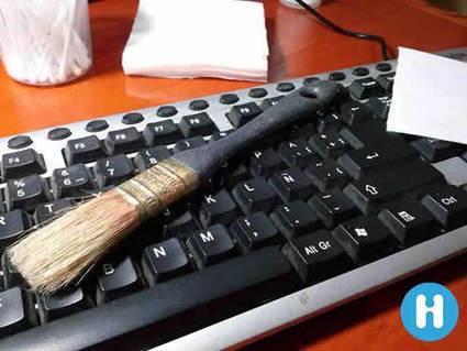 Cómo limpiar correctamente el teclado de la PC o la portátil | INFORMÁTICA LOLA ARANDA | Scoop.it