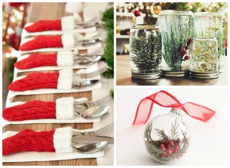 10 Dollar Store DIY Christmas Decorations that are Beyond Easy   Essentially Mom Favorites   Scoop.it
