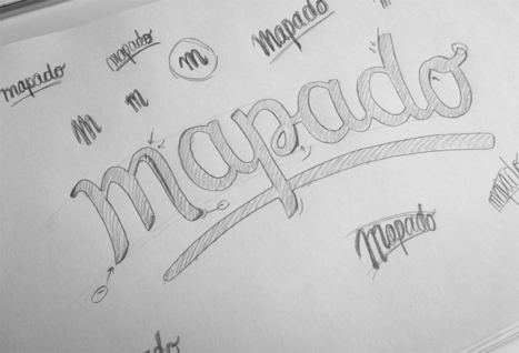 Logo design process | Mapado Blog | Veille tech | Scoop.it