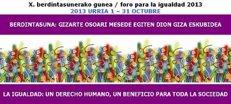 Diálogos cruzados entre feminismo y transformación organizacional - Actividad Foro Igualdad | Begirada feminista | Scoop.it
