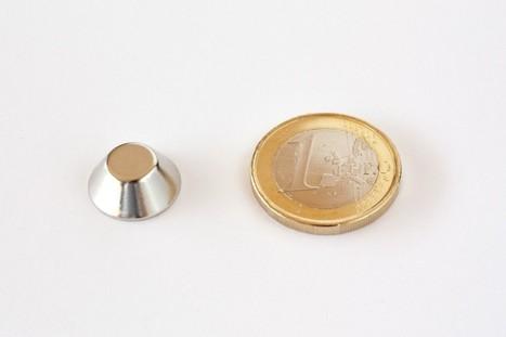 Neodym Magnete und Supermagnete KM-15/8x06-N Konus Magnet Neodym Neodym Magnete | Neodym Magnete und Super Magnete im Magnetshop | Scoop.it