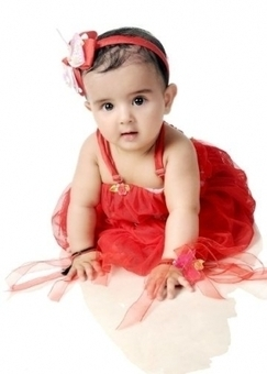 Samaira is the Winner of Photo Contest for November - 2013 by Judges Voting | Baby Photo Contest | Scoop.it