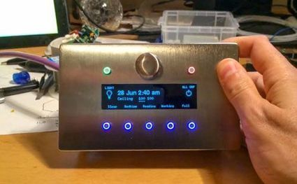 Watch This: Mat Smith's DIY Arduino Home Automation Control Panel | Raspberry Pi | Scoop.it