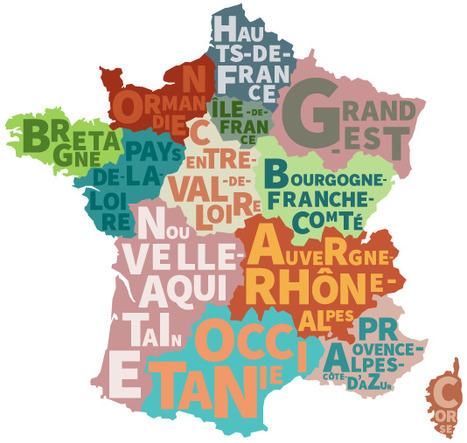 Régions de France | FLE enfants | Scoop.it
