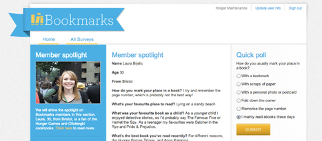 "Random House UK startet Online-Plattform ""Bookmarks"" - buchreport   techno   Scoop.it"