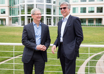 Apple and SAP to Develop IPhone, IPad Apps for Businesses | Digital Insights | Scoop.it