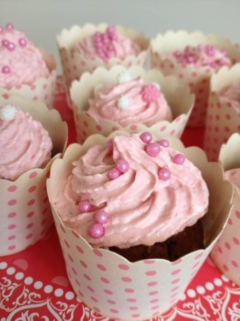 Lose Baby Weight - Healthy Chocolate Cupcakes with Indulgent ...   Just Chocolate!!!   Scoop.it
