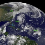 NASA Satellites Busy at the Peak of Hurricane Season | Geospatial | Scoop.it