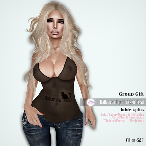 ViSion - S&F: {ViSion} -S&F *Group Gift* Halloween* Trick or Treat | ViSion -S&F | Scoop.it