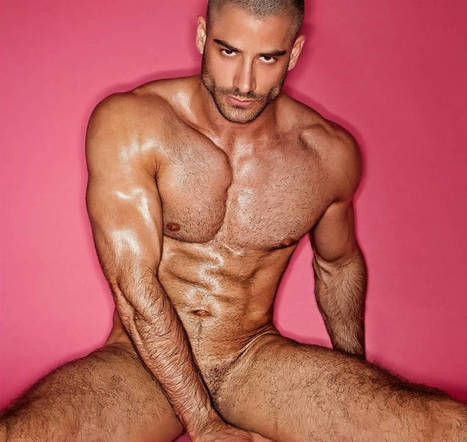 Jonathan Guijarro Naked for ADON Magazine | THEHUNKFORM.NET | Scoop.it