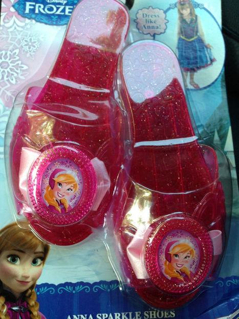 New Disney Frozen PRINCESS ANNA PINK SPARKLE SHOES Costume Play Dress Up   Princess Dress up   Scoop.it