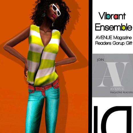 Vibrant Ensemble Outfit Group Gift by Loovus Dzevavor | Teleport Hub - Second Life Freebies | Second Life Freebies | Scoop.it