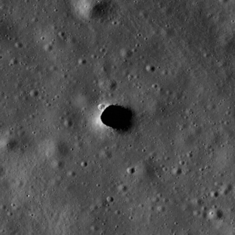Lunar Lava Tubes Might Make Underground Moon Cities Possible - Space.com | Space matters | Scoop.it