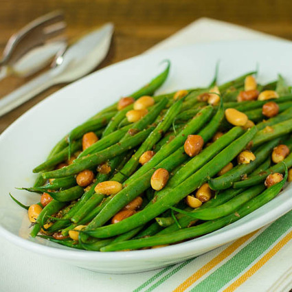 Creole Green Beans with Peanuts | @FoodMeditations Time | Scoop.it