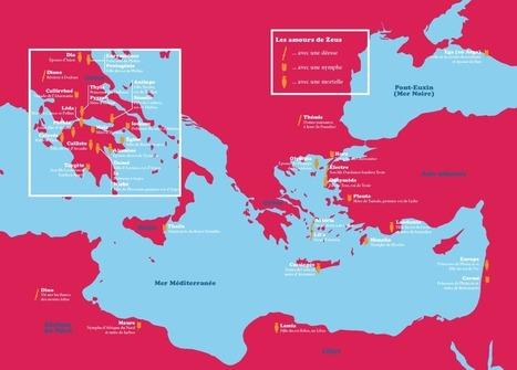 «La géographie des amours de Zeus donne une carte du monde antique»   Profencampagne - Le blog education et autres...   Scoop.it