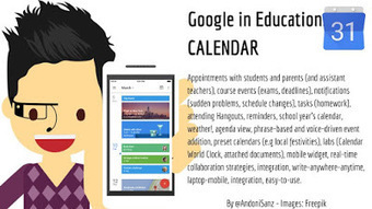 Techknowledgeschool: #Google apps for #education #gafe - #Calendar #edtech by @AndoniSanz   Blended Learning   Scoop.it