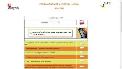 PIZARRA DIGITAL Y TIC: Herramienta de autoevaluación de la competencia digital | Aprendiendoaenseñar | Scoop.it
